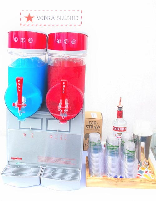 Slush  machine hire  -Aylin Sweets -Fun foods for Corporate events & More