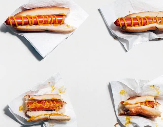 different hot dogs